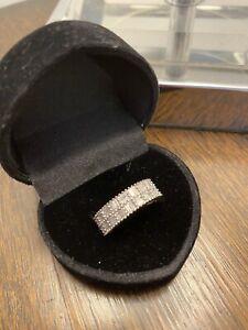 Fine 9ct Yellow Gold 1ct Diamond Engagement, Wedding, Eternity Band Ring
