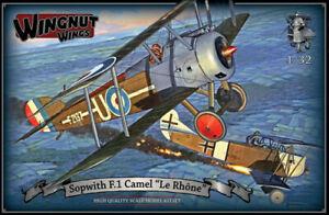 """maquette 1/32 Wingnut Wings Sopwith F.1 Camel """"Le Rhône"""" #32071"""