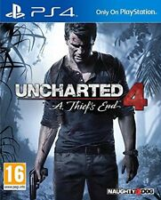 Uncharted 4 a Thief's End Sony Standard 0711719454113 Jeu Video