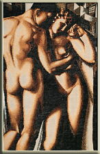 Adam And Eve - Cross Stitch Kit with Color Symbolic Scheme SKU:052