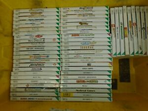 Job Lot of 55 Wii Games, mostly with manuals-