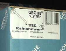 GROHE 28983ZB0 Rainshower 16″ Shower Arm Oil Rubbed Bronze