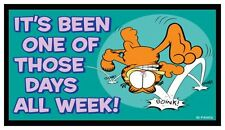 Fridge Magnet: GARFIELD - It's Been One of Those Days All Week! (Cat Humor)