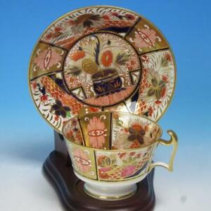 Spode China - Imari 963 - Cup and Saucer