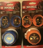 Lot NEW LEGO NINJAGO Cole And Jay Training Pod Set 853758 853759 Mini Figures