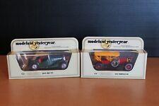 2 Matchbox Models of Yesteryear Y-8 & Y-9 1912 Simplex 1945 MG - TC