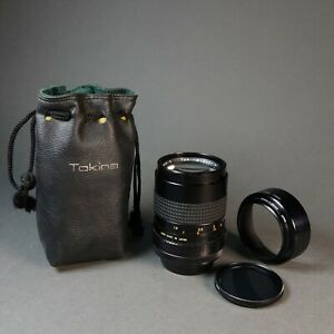 Tokina Special Auto 135mm F/2.8 Lens For Canon FD w/ Shade & Soft Case