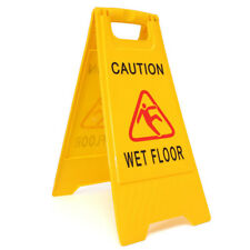 3 x Professional Wet Floor Warning Caution Hazard Safety Sign Cleaning £4.99EACH