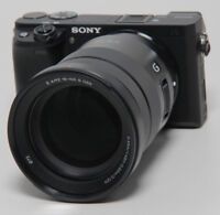 Sony Alpha A6300 + Sony 18-105mm SELP18105G E-Mount Systemkamera 24 Megapixel