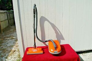 KENMORE 116 29319  360 Hepa Media Filter Orange Canister Vacuum Cleaner+ attachm