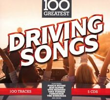 100 GREATEST DRIVING SONGS SOFTPAK (Dr Feelgood, Jethro Tull, ZZ Top) 5 CD NEUF