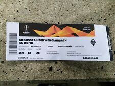 Used Sammler Ticket Borussia Mönchengladbach vs AS Roma Rom UEFA EL 2019/20