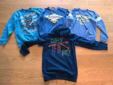 4 super Jungen Langarm- und Sweatshirts blau Gr. 146 152 158 164 TOP Zustand