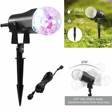 Projection Flame Light Waterproof Spotlight Christmas Light Projector LED Patio