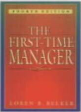 First-time Manager-Loren B. Belker
