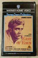 East of Eden VHS 1955 Romance Elia Kazan James Dean 1985 Warner Home Video (UK)