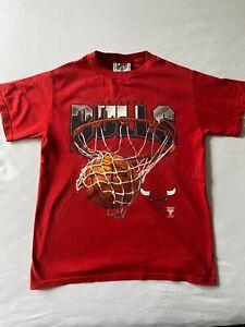 Chicago Bulls NBA  Basketball T-Shirt Lee Sport Gr S/M 90er Jahre Retro Vintage
