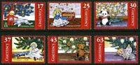 GUERNSEY 1998 CHRISTMAS TREES SET OF ALL 6 COMMEMORATIVE STAMPS MNH (k)