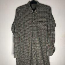 Women's Vintage Style Shirt Dress Size XXL 2XL UK 12 14 16 Long Sleeve Buttoned