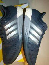 ADIDAS Boost Gray Running, Cross Training Men's 9.5M / 3 stripe reflective silvR