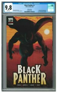 Black Panther #1 (2005) Limited Edition Variant Ribic Cover CGC 9.8 CH113