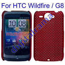 Case in PVC Ultra Slim Perforated Bulk Brown/Marrone x HTC G8/Wildfire