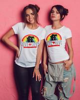 Gay Pride love is love T Shirt Rainbow Tshirt Lesbian LGBT