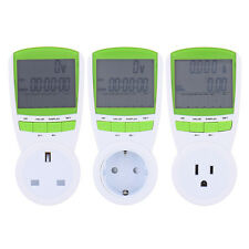 Digital Energy Power Meter Voltage Measuring Outlet Plug Hertz Power Analyzer