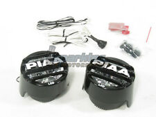 PIAA LP 530 High Intensity LED Round Driving Light Kit Fog Lamps 6000k 5370 NEW