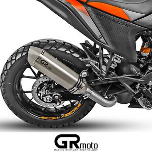 KTM ADVENTURE 390 Exhaust 2020 2021 Muffler Titanium GRmoto