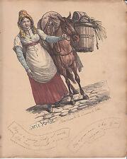 « chatarra » página del álbum con Marchande de pommes de terre Aguafuerte De Carle Vernet