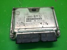 Engine Control Unit AUDI A3 1,9 TDi AHF 038906012A ECU BOSCH 0281010120