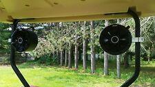 Golf Cart KICKER Stereo Speakers EZ GO Club Car Radio Console Pod Enclosures