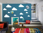 CLOUDS removable wall stickers for kids or nursery room- clouds 1