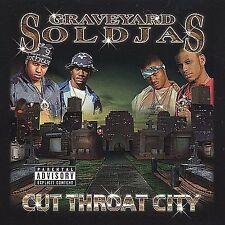 Graveyard Soldjas: Cut Throat City Explicit Lyrics Audio Cassette