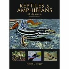 NEW Reptiles and Amphibians of Australia by Harold G. Cogger