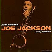 Body & Soul Joe Jackson CD 1984 A&M IMPORT JAPAN AUDIO MASTER PLUS AM+ FAST SHIP