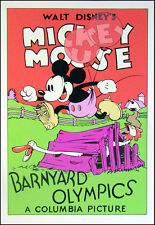 Walt Disney Mickey Mouse Serigraph FINE ART PRINT.  SUBMIT YOUR BEST OFFER!
