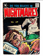 """Do You Believe In Nightmares  No.2     : 1958 :     :""""Night i Ran For My Life!"""":"""