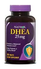 Natrol Dhea 25mg 300 Tablets