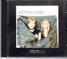 (BU105) Georgie James, Places - DJ CD