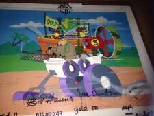 Hanna Barbera Magilla Gorilla  Production cell Original WACKY RACES