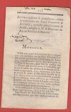 1788 BORDEAUX JURADE PROTESTATION DE NOMINATION ETATS GENERAUX