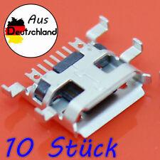 10 x carga micro conector USB conector 7Pin carga conector móvil Tablet, Lenovo ZTE