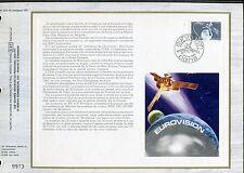DOCUMENT CEF PREMIER JOUR  1980  TIMBRE   N° 2073 EUROVISION