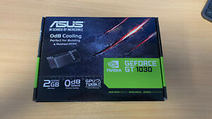 ASUS GeForce GT 1030 2gb Boost Graphics Card Low Profile (GT1030-SL-2G-BRK)