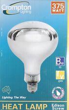 375W Reflector Heat Lamp for Bathroom Ceiling Mount Heaters - IXL Tastic etc