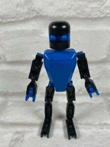 Genuine Blue K'nex Man. Discontinued. Knex Robot Men.