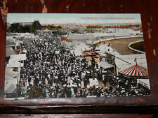 TORONTO CANADA - RARE EARLY POSTCARD - THE MIDWAY - EXHIBITION