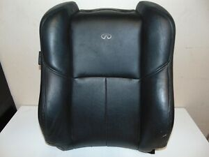 2006-2007 INFINITI G35 COUPE FRONT RIGHT PASSENGER SEAT UPPER COVER BLACK